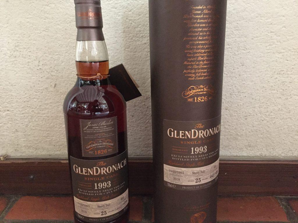 Glendronach 1993 2018 25 years cask 659 59,1% only 556 bottles