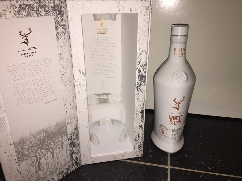 glenfiddich winter storm 43% 2018 21 years only 8000 bottles