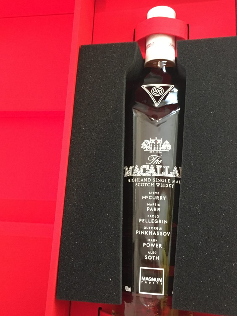 Macallan masters of photography Magnum edition 2018 43,7% only 2000 bottles